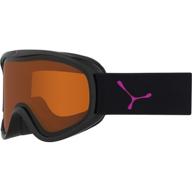 Cebe Razor M Black and Pink - Orange Ski Goggles