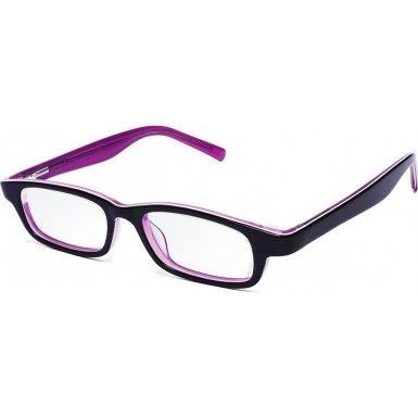 Eyejusters Purple Pink Adjustable Reading Glasses - 0.00 to 3.00 Strength