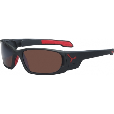 Cebe S-Cape Small Matt Black Red Sunglasses