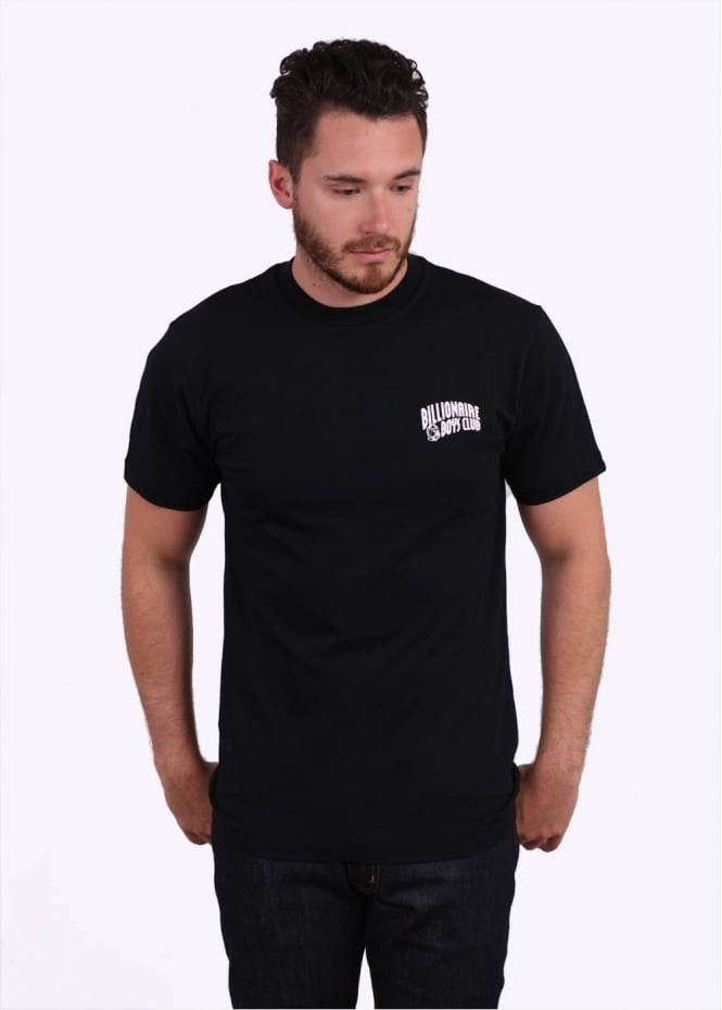 Small Arch Logo Tee - Black