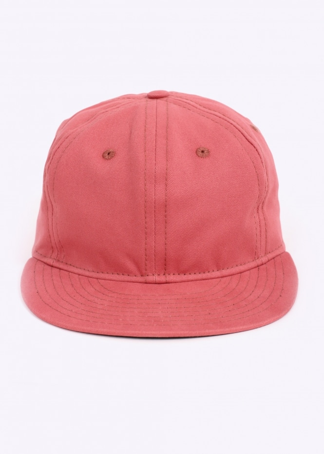 Brushed Chino Twill 6 Panel - Nautical Red