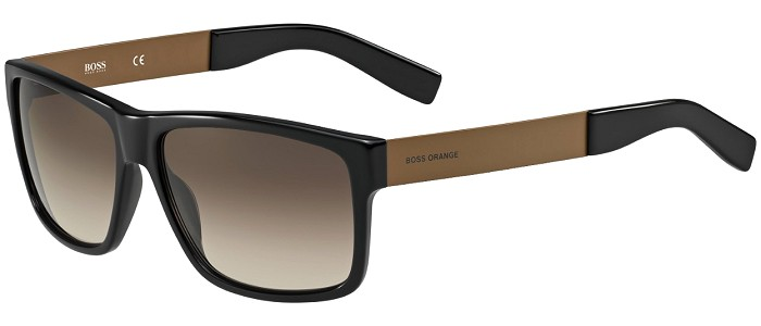 Boss Orange sunglasses 0196 7LE/HA Black / Brown