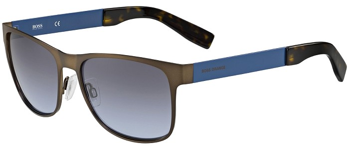 Boss Orange sunglasses 0197 7XL/LL Brown / Blue