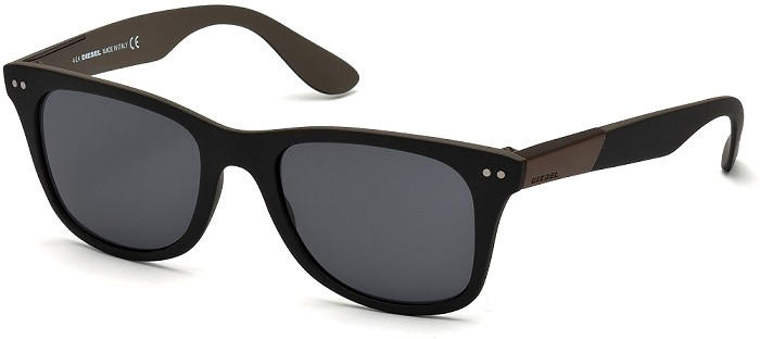 Diesel sunglasses 0173 05A Black / Other