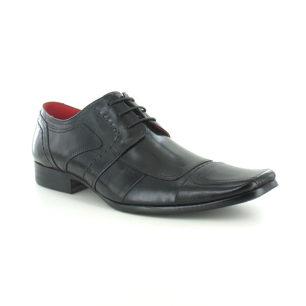 Paolo Vandini Newland Leather Mens Dress Shoes - Black