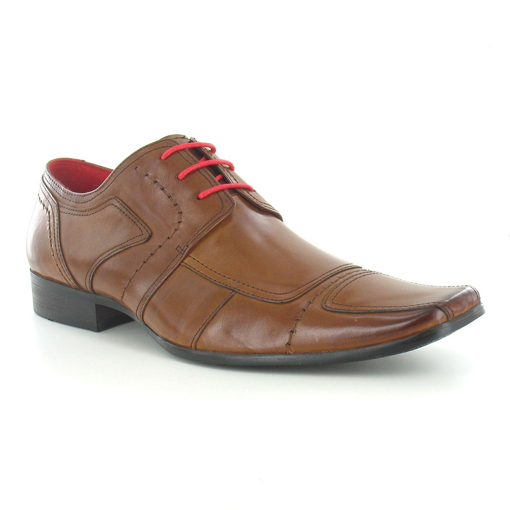 Paolo Vandini Newland Leather Mens Dress Shoes - Tan Brown