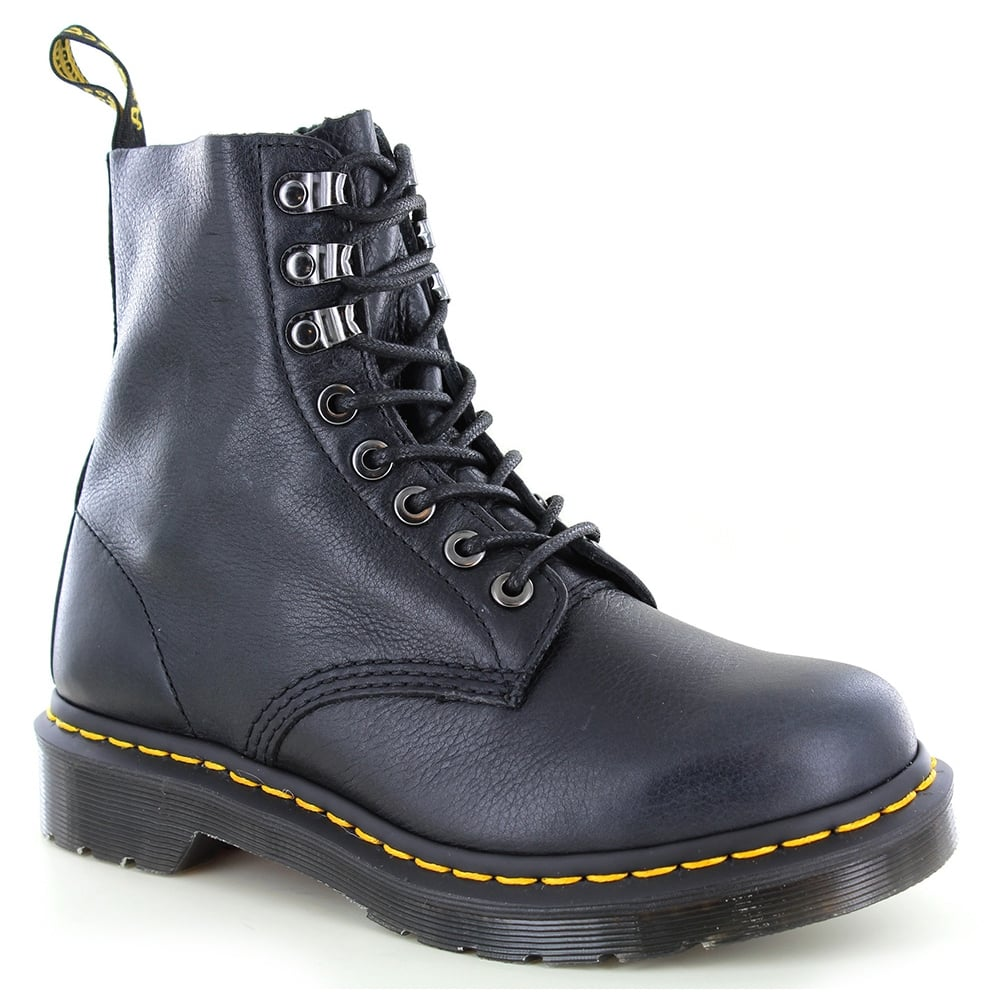 Dr Martens 1460 Naturesse Womens Leather Boots - Graphite Grey