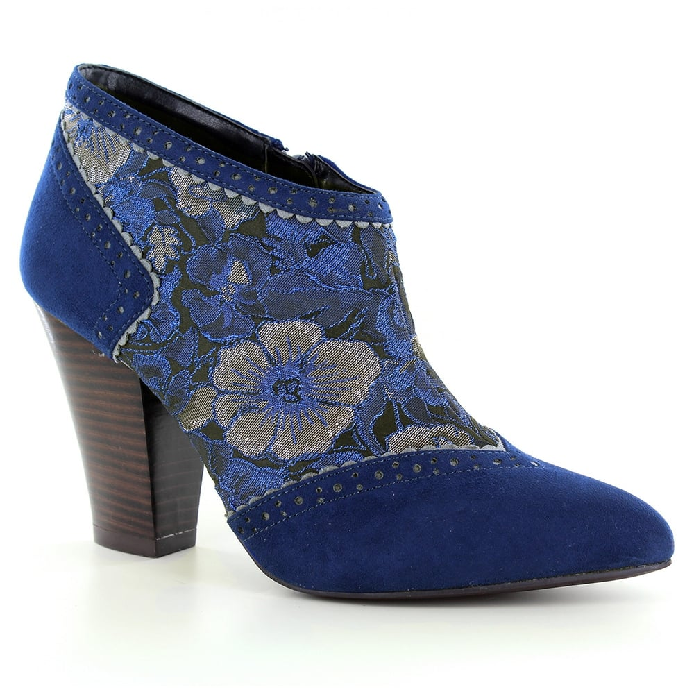 Ruby Shoo Nicola Womens Ankle Boots - Blue