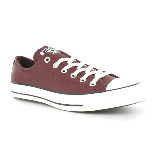 Converse 140033 C Chuck Taylor All Star Mens Oxford 6-Eyelet Long Lace-Up Shoes - Andorra Burgundy