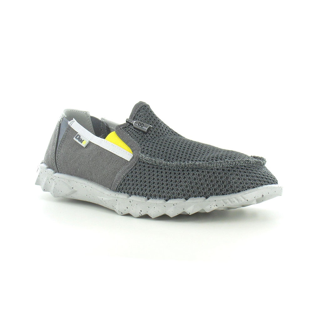 Hey Dude Farty Mesh Mens Canvas Slip-on Shoes - Ferro Gray