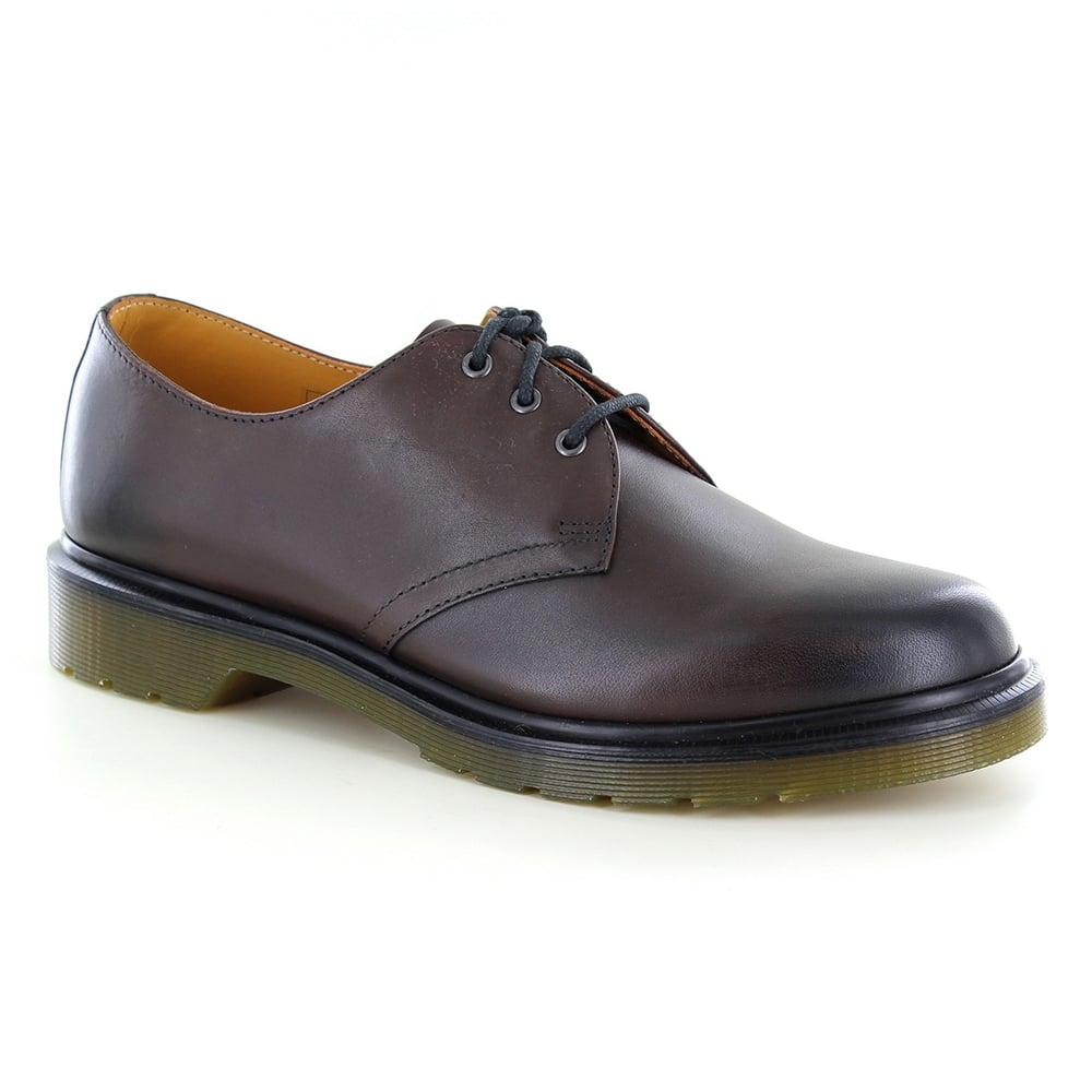 Dr Martens 1461 Mens Leather Shoes - Brown