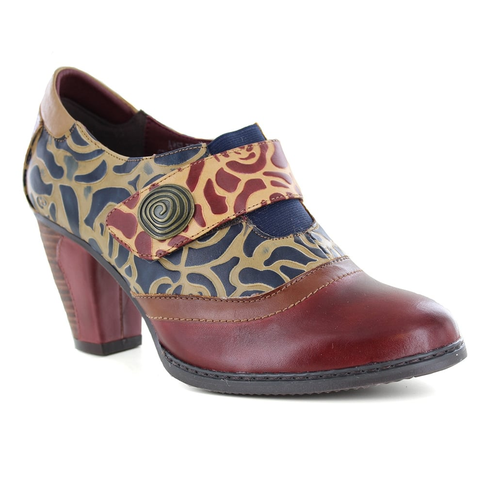 Laura Vita Amelie 11 CX2617-1 Womens Slip On Leather Shoes - Wine