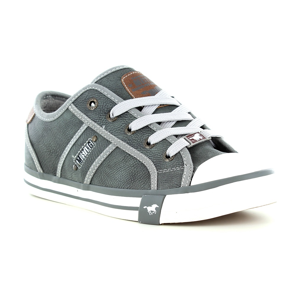 Mustang 1209-301-873 Womens Fashion Trainers - Grey